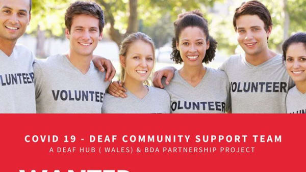 Deaf Awareness for community groups supporting people due to Covid-19